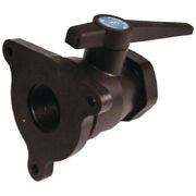 Forespar 904010 3/4 Flange Mounting Seacock Valve Fitting For Boat And Marine