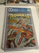 Aquaman 1 Cgc 5.0 Off White To White Pages 1st App Of Quisp
