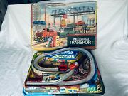 Technofix No. 322 Industrial Transport Blechspielzeug Vintage Germany Boxed