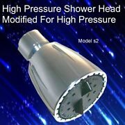 High Pressure Shower Head Shower Water Blaster The Drencher Over 12.5gpm S2