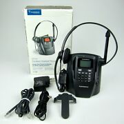 Plantronics Ct14 Dect 6.0 Cordless Headset Phone System 1.9ghz 300and039 Range