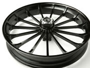 """Black 3d Turbine 21x3.5"""" For 2008-22 Harley Davidson Touring Special"""