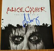 Alice Cooper Signed The Sound Of A White Vinyl 10 Inch 3468/4000