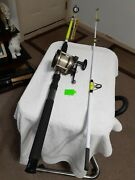 Trolling Fishing Rod Ows 7'25lb Med/heavy And Trolling Reel Shakespeare...