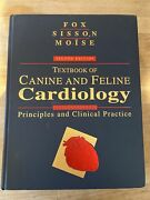 Textbook Of Canine And Feline Cardiology Second Edition Fox Sisson Moise