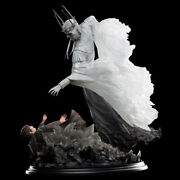 Lotr The Witch-king And Frodo At Weathertop Authentic Weta 16 Statue Le 535/700