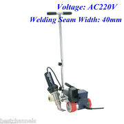 Ac220v Rw3400 Roofer Automatic Roofing Hot Air Welder + 40mm Overlap Nozzle