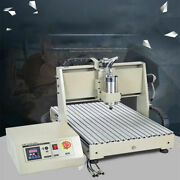 Usb 1.5kw 4 Axis Cnc 6040 Router Engraver Wood Engraving Drill Machine 3d Cutter