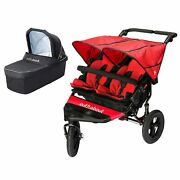 Out N About Nipper Double V4 Buggy And Carrycots Pushchair Stroller Kids Baby