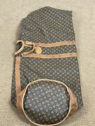 Rare Louis Vuitton French Company Large Golf Bag Cover Monogram Canvas