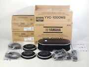 Lot Yamaha Yvc-1000ms And Yvc-mic1000ex Usb And Bluetooth Phone Mic And Speaker System