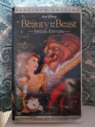Beauty And The Beast Vhs 2002 Platinum Edition Black Diamond Classic Edition