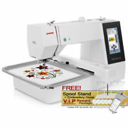 Janome Memory Craft 500e Computerized Embroidery Machine W/ Free Vip Package
