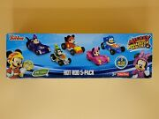 Fisher-price Disney Jr. Mickey And The Roadster Racers Hot Rod 5-pack Open Box