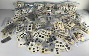 Lot Of 571 Cards Well Over 1200 Vintage Sewing Gray Buttons On Original Cards