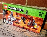 New Sealed Lego Minecraft 21126 The Wither Set 318 Pcs Retired Age 8+