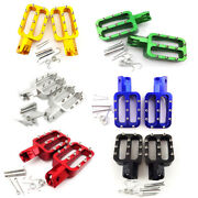 Cnc Aluminum Footpegs Foot Rest Pegs For Chinese 50cc-160cc Pit Dirt Motor Bike