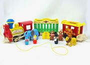 Fisher Price Little People Vintage Circus Train Set