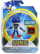 New Sonic The Hedgehog 4 Metal Sonic Action Figure Articulated With Accessory