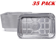 Griddle Oil Drip Pan Liners Weber Grill Grease Tray Disposable Aluminum Foil Bbq