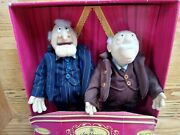 Jim Henson Statler And Waldorf 1999 Rare Replicas Of Muppets Collectible Pieces