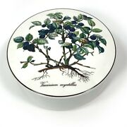 Villeroy And Boch 5 7/8 Vaccinium Myrtillus Covered Candy Box Botanica Series