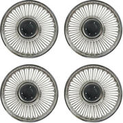 1964-1965 Mustang 14 Style Knock-off Wheel Cover Set, 4 Pieces