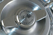 1959-1962 Corvette Wheel Cover/hubcap Assemblyset With Spinners 25-103006-1