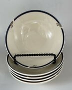 Set Of 5 Gorham Town And Country Melon Bud Berry Bowl 5 1/4 Discontinued Mint
