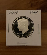 2021-s Kennedy Half Dollar - 99.9 Silver Cameo Proof From Proof Set