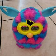 Furby Boom Pink And Blue Hearts 2012 Hasbro. Tested And Works Great