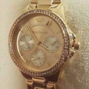 Juicy Couture Gwen Rose Gold/crystal Chronograph Watchnew1 Left275