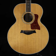 Vintage 1989 Taylor 815 Jumbo Acoustic Natural With Ohsc
