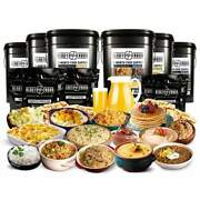 3-month Emergency Food Supply Andndash 876 Servings - 90 Days By Ready Hour