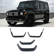 New G65 Style Fender Flare Wheel Trim For Mercedes Benz G-class W463 90-17