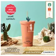 Thailand Starbucks Cactus New Collection 2021 Stainless Steel 18oz Straw Cup
