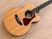 2018 Gibson Parlor Rosewood Ag Acoustic Electric Guitar Near Mint W/ Case