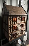 Dolls House Tudor Style Very Large With Lights