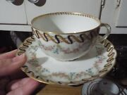 Theodore Haviland Limoge, France China Cup And Matching Saucer 1