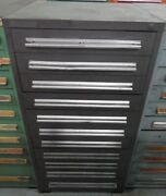 Cabinet Stanley Vidmar 11 Drawer - 30and039and039wide X 28and039and039 Deep X 59and039and039 Tall - Gray ...