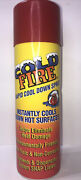 Coldfire Fire Extinguisher - Rapid Cool Down Spray, 12 Oz.