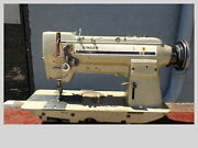 Industrial Sewing Machine 212 U141 With Reverse Two Needle -leather