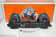 Lionel 6-26089 Lrrc Western Union Telegraph Co Gondola W/ Handcar And Cable Reels