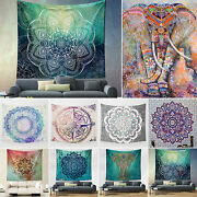 Large Indian Tapestry Wall Hanging Mandala Hippie Bedspread Throw Towel Blankets