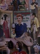 The Danbury Mint Collectible I Love Lucy Lucille Ball Ethel 12 Plate .