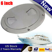 6 316 Stainless Steel Boat Marine Deck Plate Inspection Access Hatch Cover 1pc