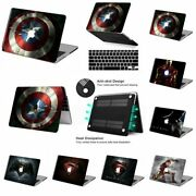 Super Hero Pop Movies Pattern Rubberized Hard Case Cover For New Macbook Air/pro