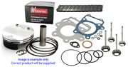 Wossner Piston Top End Rebuild Kit3 Chain And Valves For Ktm250 Sxf 2016 - 2019
