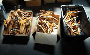 Huge Lot Of 182 Wood Wooden Clothing Clothes Shirt Suit Hangers Bulk Branded