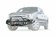 Warn Black Thick Steel Ascent Front Bumper For 2018-2020 Ford F-150 100916